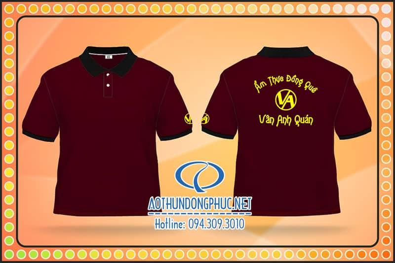 Đồng phục thun Vân Anh Quán Áo thun đồng phục nhân viên, đồng phục thun phục vụ, áo đồng phục nhân công