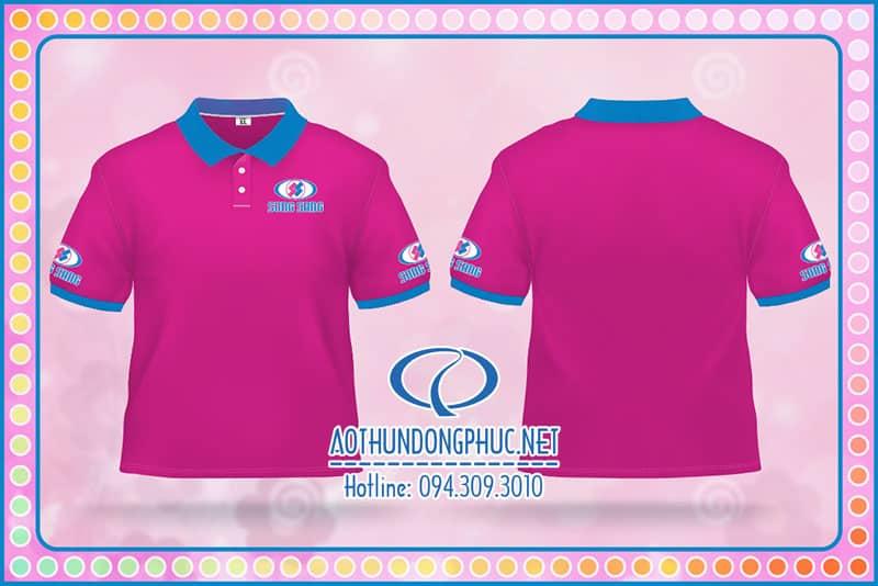 Áo đồng phục Công Ty Song Sáng Đồng phục thun công ty, áo đồng phục nhân viên, đồng phục áo thun cổ bẻ