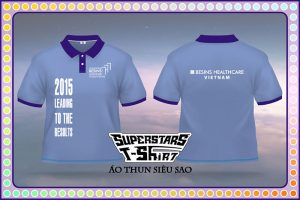 Áo thun đồng phục nhãn hàng dược Besin Đồng phục chương trình, áo thun lễ hội, đồng phục thun công ty trong những ngày vui chơi thư giãn