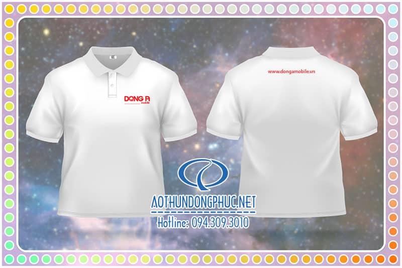 Đồng phục áo thun nhân viên Công Ty Đông Á Đồng phục thun cotton 100%, áo thun đồng phục cổ bẻ, đồng phục thun cổ trụ, áo thun nhân viên, đồng phục thun nhân viên bán hàng, áo đồng phục công ty.