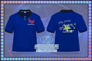 Áo phông đồng phục lớp tình nguyện xã Phú Cường