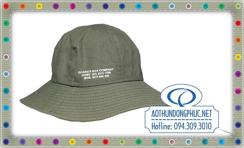 May nón tai bèo May nón quà tặng. May mũ nón tai bèo giá rẻ. In nón kết, thêu mũ nón. In lụa trên nón.