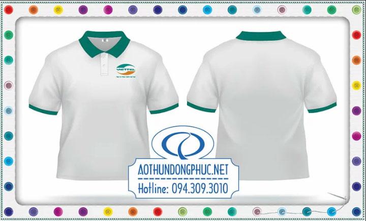 Mẫu áo phông đồng phục Viettel