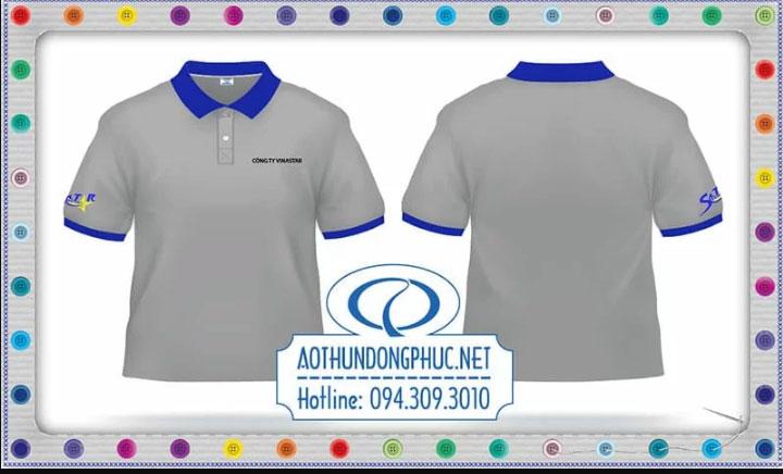Mẫu áo phông đồng phục công ty VinaStar