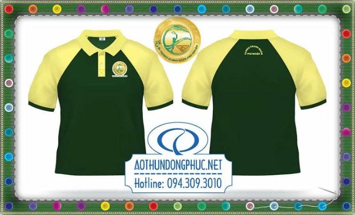 Áo phông nhóm clb tennis doanh nhân Phú Nhuận