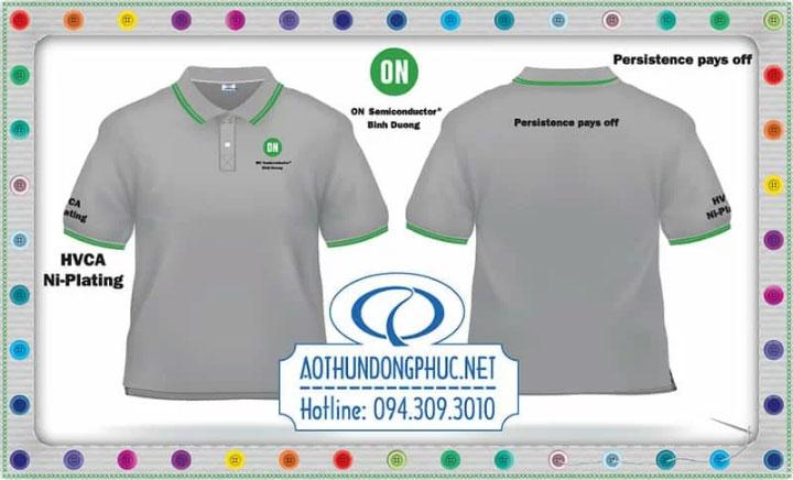 Mẫu áo phông nhân viên HVCA