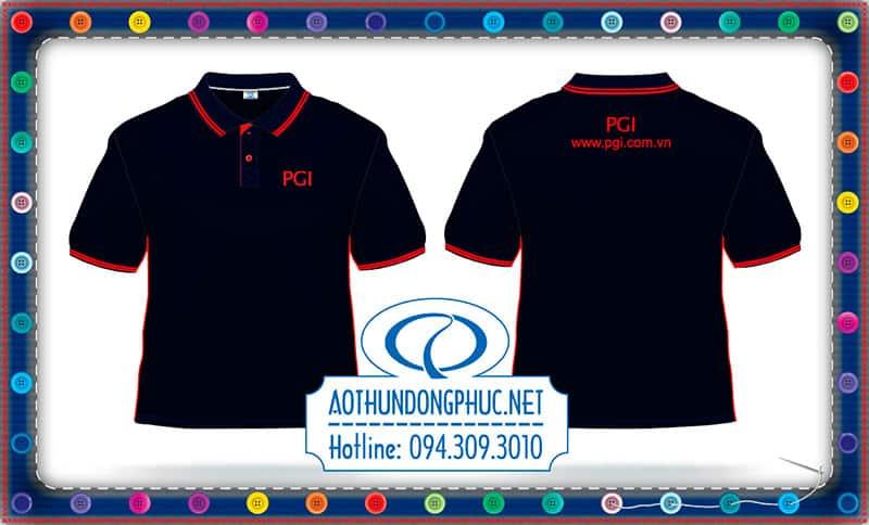 Mẫu in lụa cao áo phông đồng phục PGI