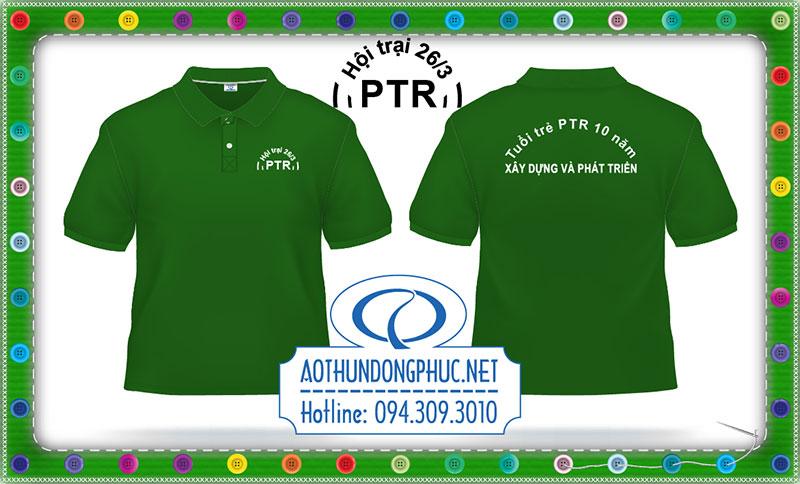 Mẫu áo phông teambuilding PTR