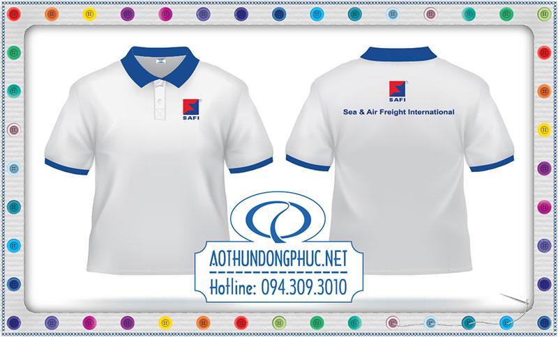 Mẫu áo phông đồng phục công ty Safi
