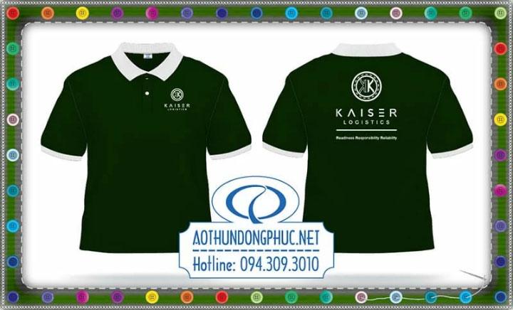 Mẫu áo phông đồng phục KAISER-logistics