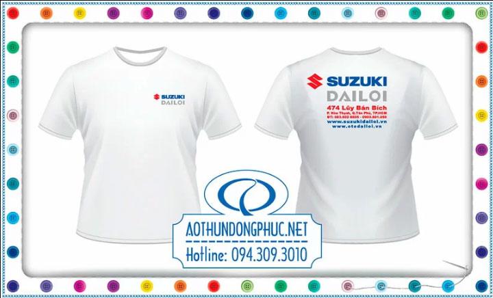 Áo phông quà tặng - áo phông quảng cáo HEAD Suzuki