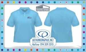 Mẫu áo phông đồng phục công nhân công ty tại TpHCM