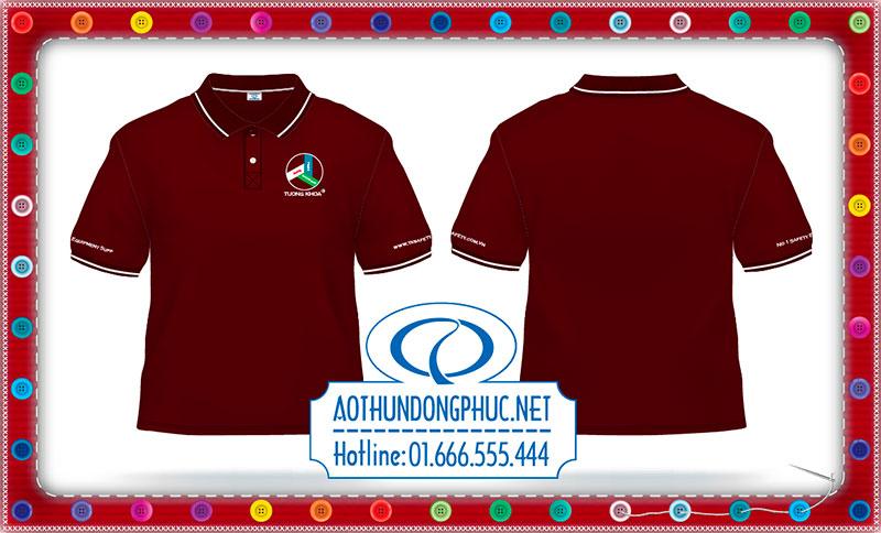 Mẫu áo phông đồng phục công sở công ty Tường Khoa