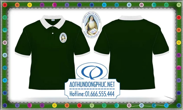 Áo phông Công Giáo Russeykeo