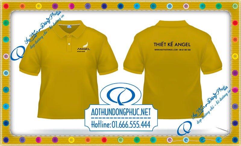 Mẫu áo đồng phục công ty Angel