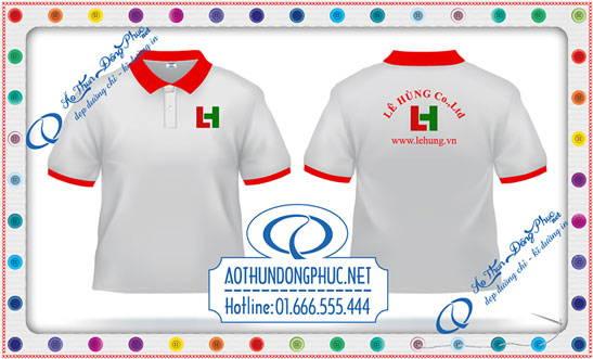 Mẫu áo phông công ty Lê Hưng