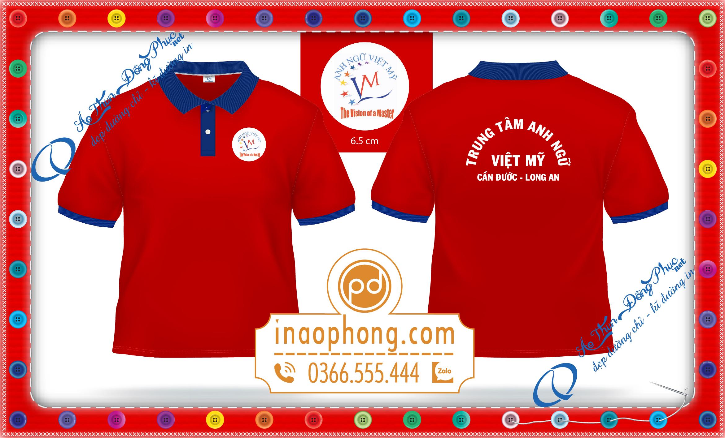 Đồng phục áo phông thể hiện thương hiệu. Rất nhiều công ty , quán ăn , quán coffee , cửa hàng thông qua những bộ đồng phục áo phông họ muốn truyền bá giới thiệu về thương hiệu của mình .