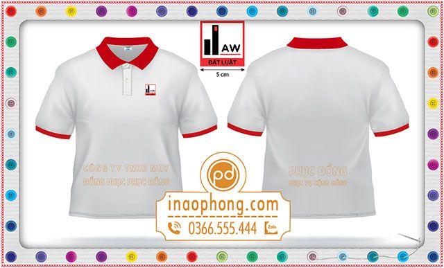 Mẫu áo phông công ty Đất Luật TPHCM-Hà Nội