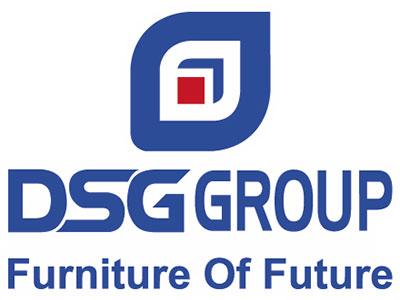 Logo in áo phông dài tay Công ty Đông Sài Gòn