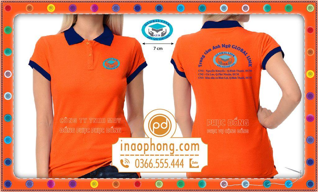 Đồng phục áo phông Anh ngữ Global Link