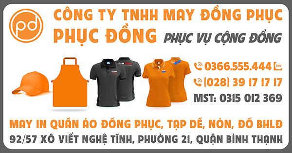 Banner Công ty TNHH may đồng phục Phục Đồng