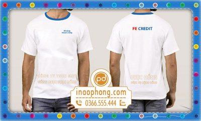 Đồng phục áo phông nhân viên FE Credit