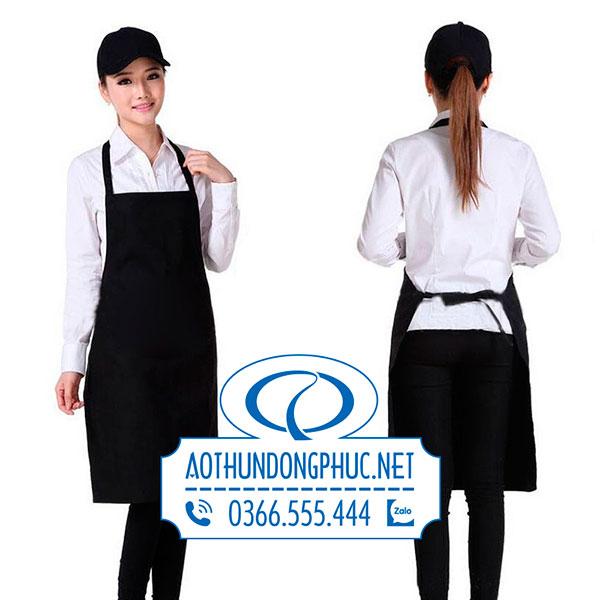 Đồng phục tạp dề yếm nữ