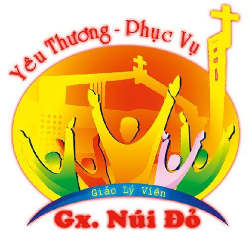 Logo in lên áo đồng phục Công Giáo-Gx Núi Đỏ