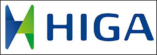 Logo in trên áo thun công nhân công ty Higa