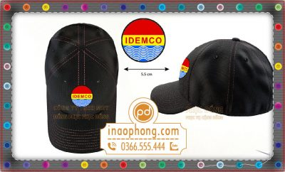 Đồng phục nón kết công ty IDEMCO