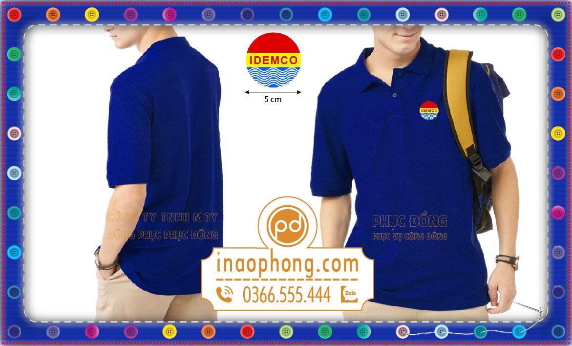 In áo thun đồng phục công ty IDEMCO