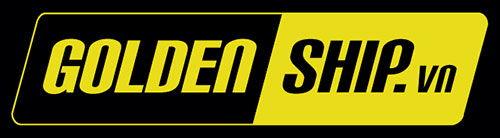 Logo in đồng phục nhân viên giao nhận Golden Ship 1