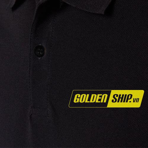 Logo in đồng phục nhân viên giao nhận Golden Ship 2