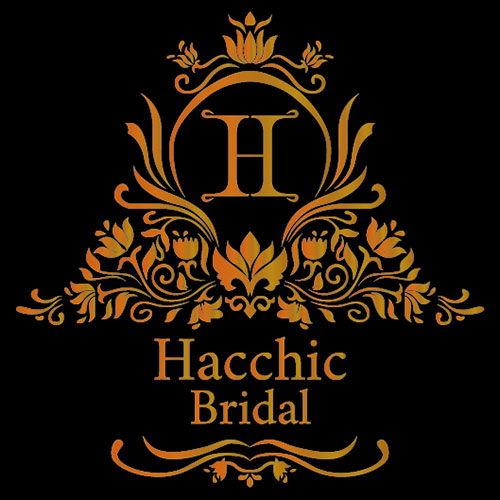 Logo in nhũ đồng Studio áo cưới Hacchic Bridal