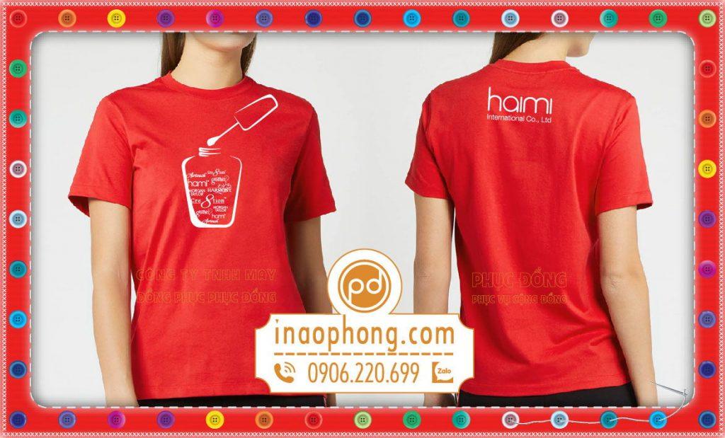 T-shirt uniform Women-HaiMi Co.ltd 3