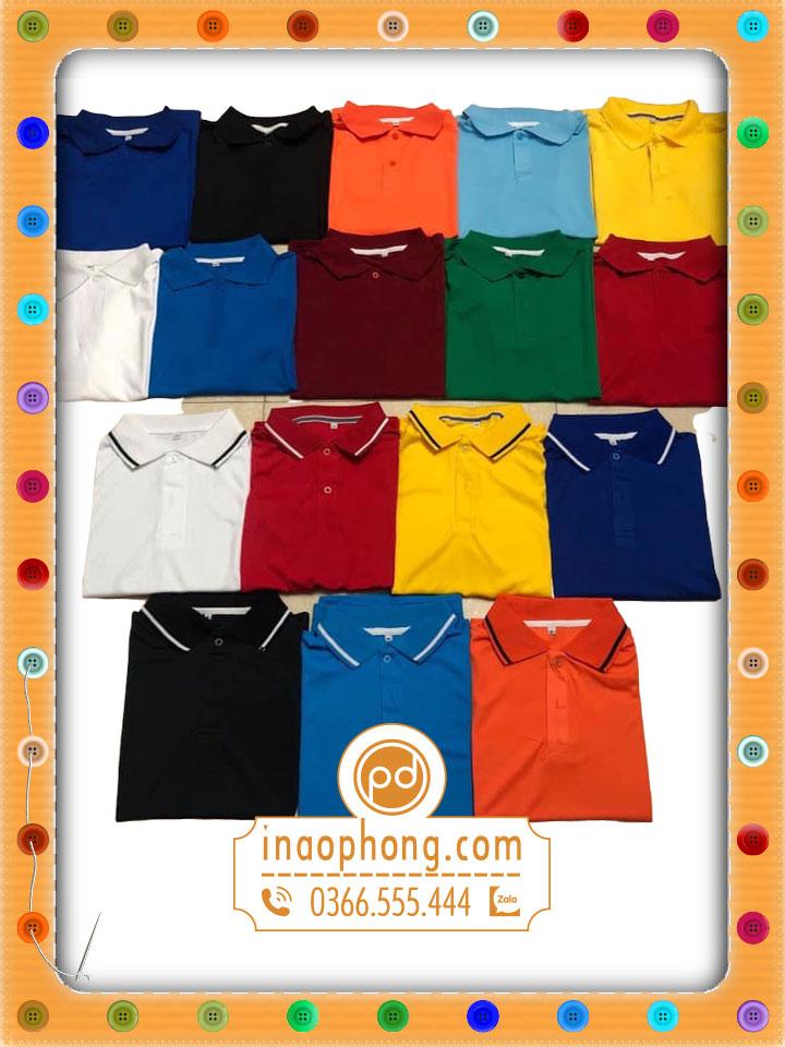 Các mẫu áo phổ biến và ưu chuộng trên mảng đồng phục áo thun