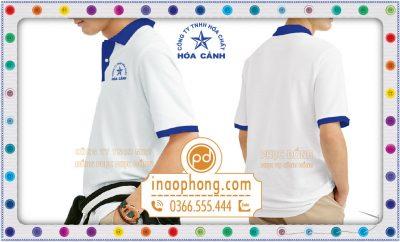 Đồng phục áo phông công nhân viên Hóa Cảnh