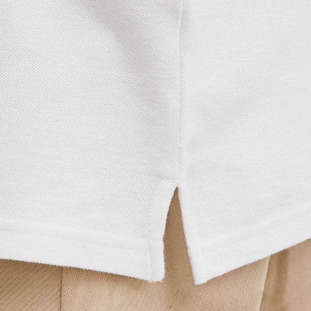 Áo phông được may xẻ tà làm đẹp kiểu áo đồng phục công nhân