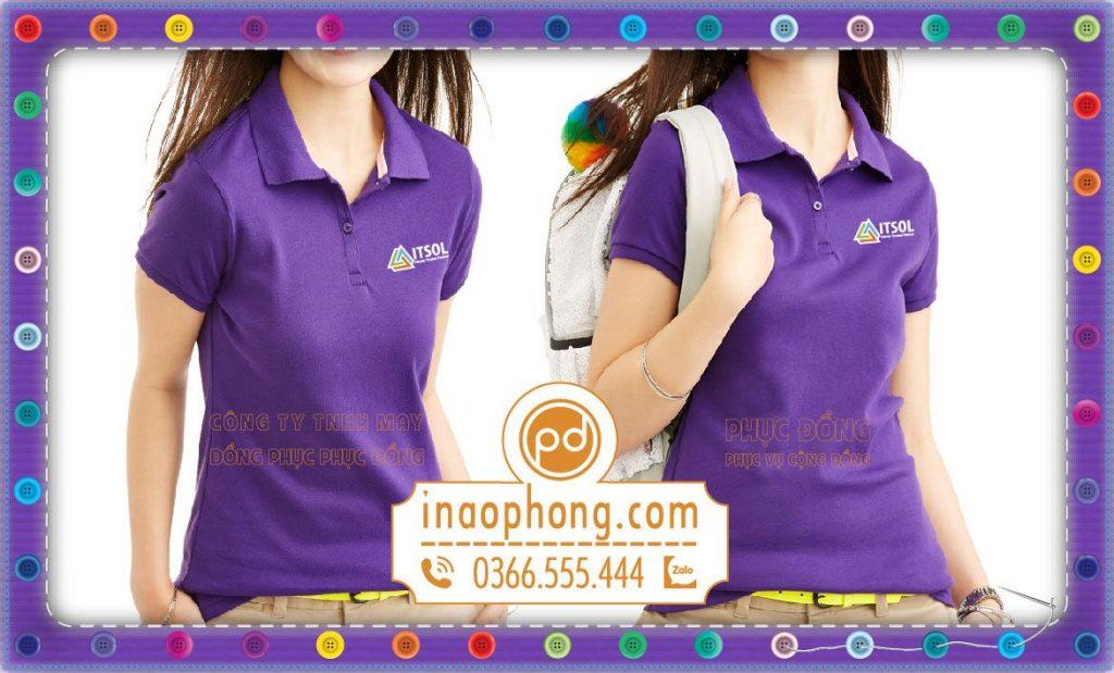 Đồng phục áo phông nhân viên công ty ITSOL