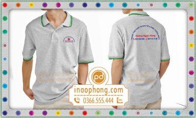 In áo phông đồng phục công ty Hoàng Ngọc Hùng