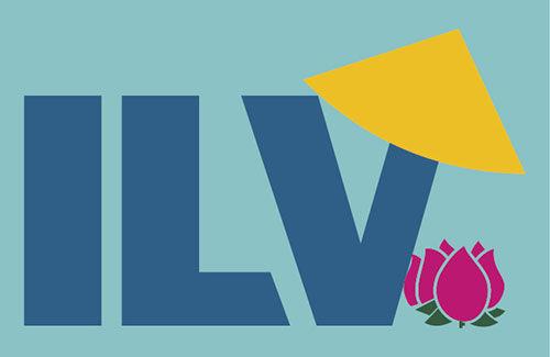 Logo được thêu lên đồng phục áo phông thành viên ILV