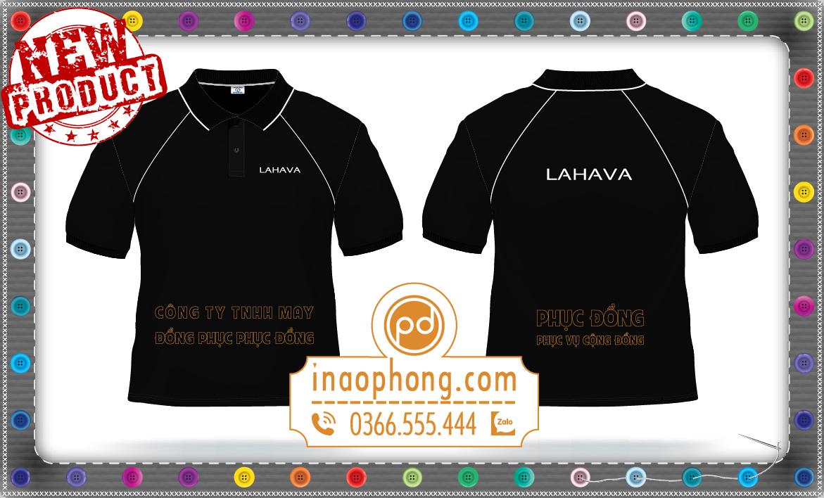 Mẫu thiết kế áo đồng phục tay raglan Áo Cưới Lahava