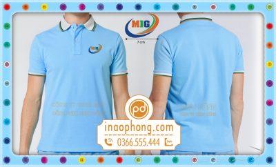 Đồng phục áo phông công ty MIG
