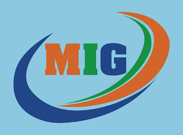 Logo in trên mẫu thiết kế đồng phục áo phông nhân viên công ty MIG 01
