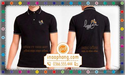 In áo thun đồng phục dành cho nhân viên trà sữa LazyBee